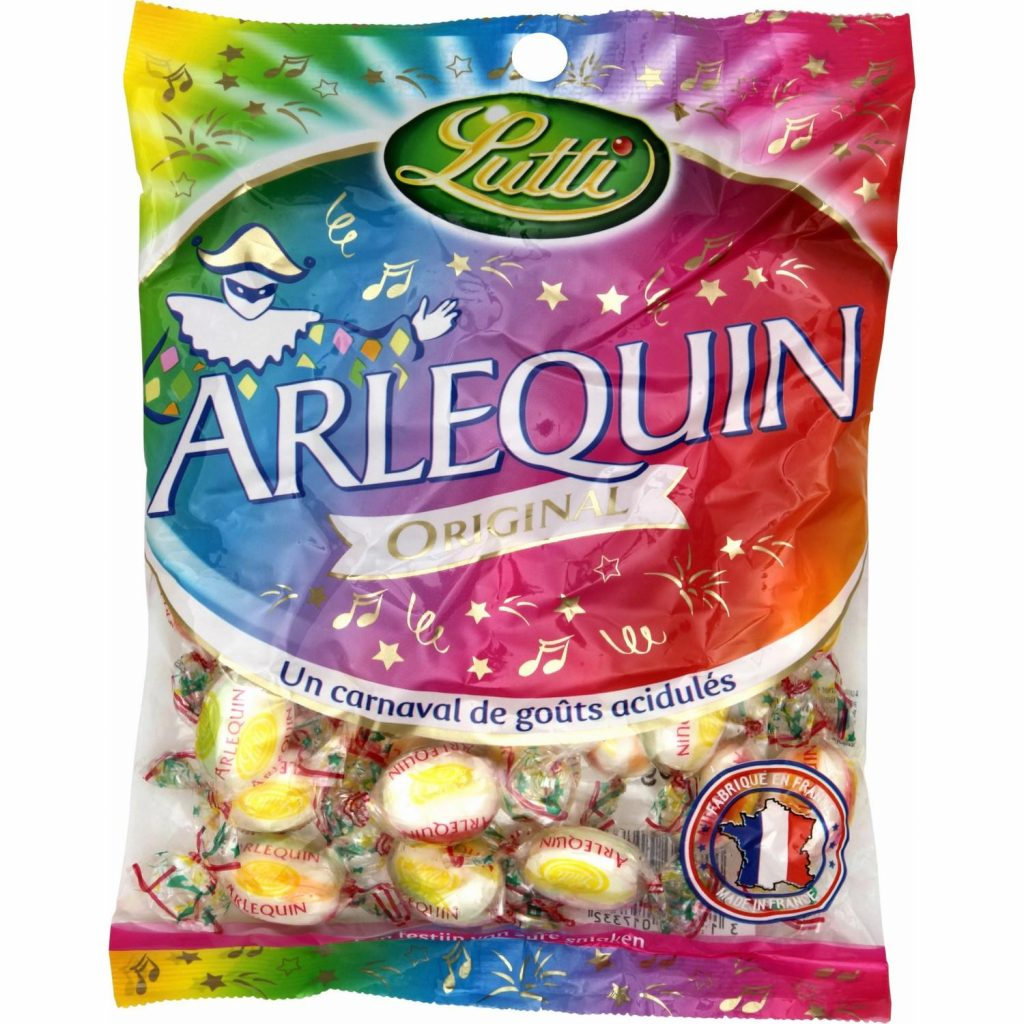 French Candies / Sweets Lutti Arlequin - My French Grocery
