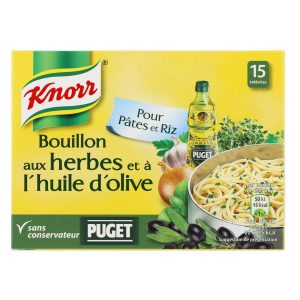 Bouillon Aux Herbes & Huile d'Olive Knorr - My French Grocery