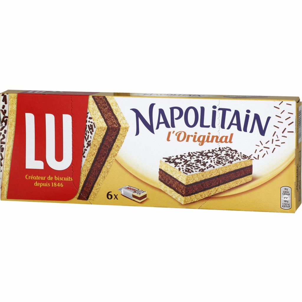 French cake Napolitan by LU