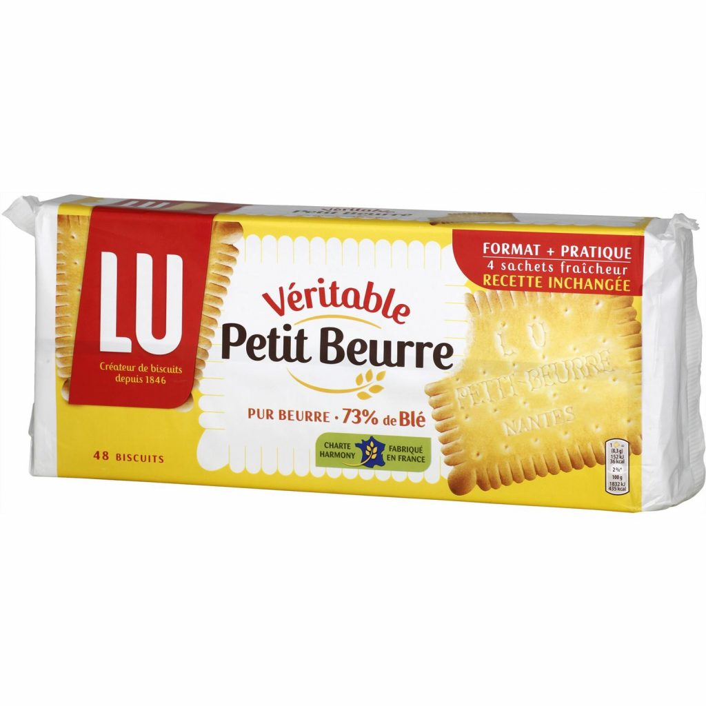 "French Biscuit ""Petit beurre"" by LU"