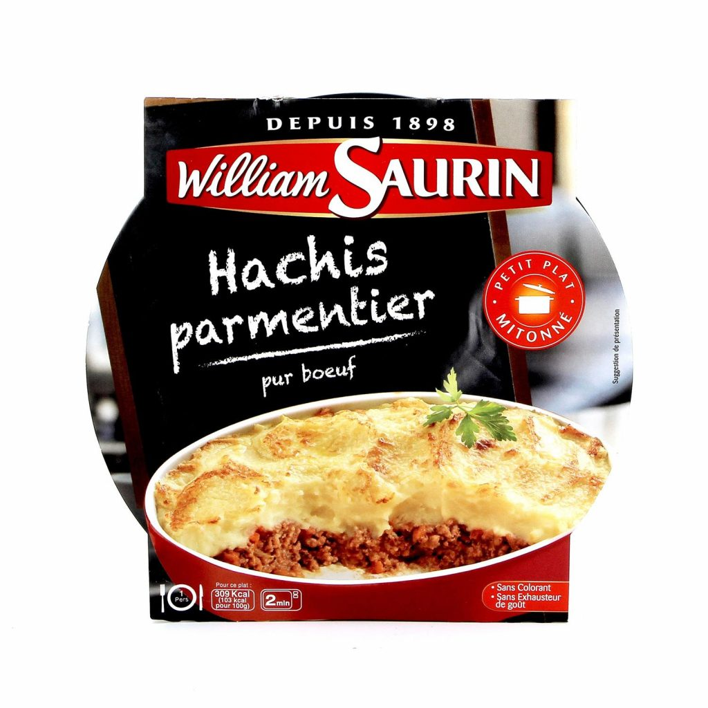 Cooked Shepherd's Pie With Beef William Saurin - My French Grocery