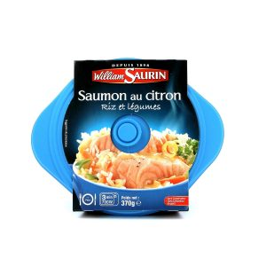 Salmon With Lemon & Rice William Saurin - My French Grocery