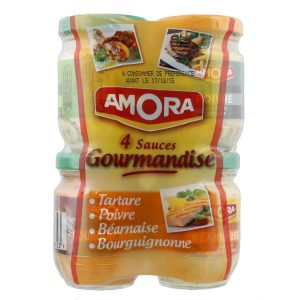 4 X Sauces Amora - My French Grocery