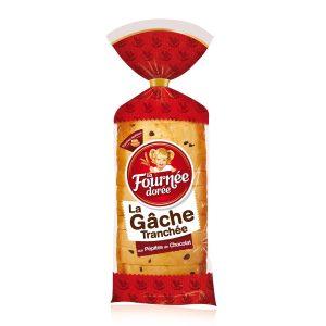 Gâche Tranchée Chocolat La Fournée Dorée - My French Grocery