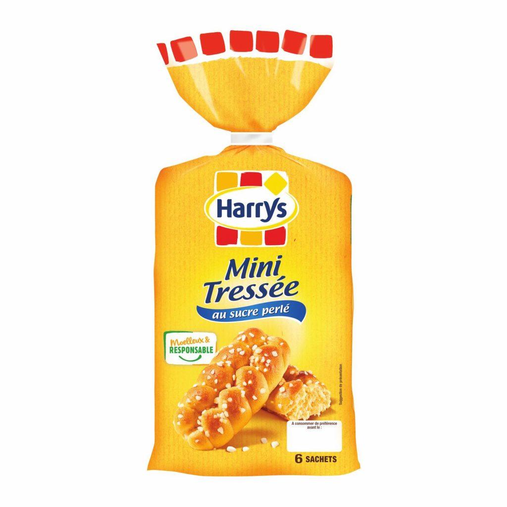 Brioche Mini Tressée Au Sucre Harry's - My French Grocery