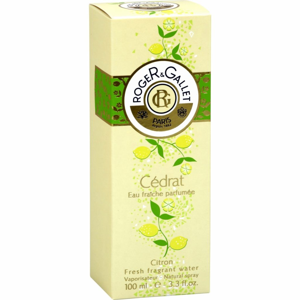 Eau Parfumée Cédrat Roger & Gallet - My French Grocery