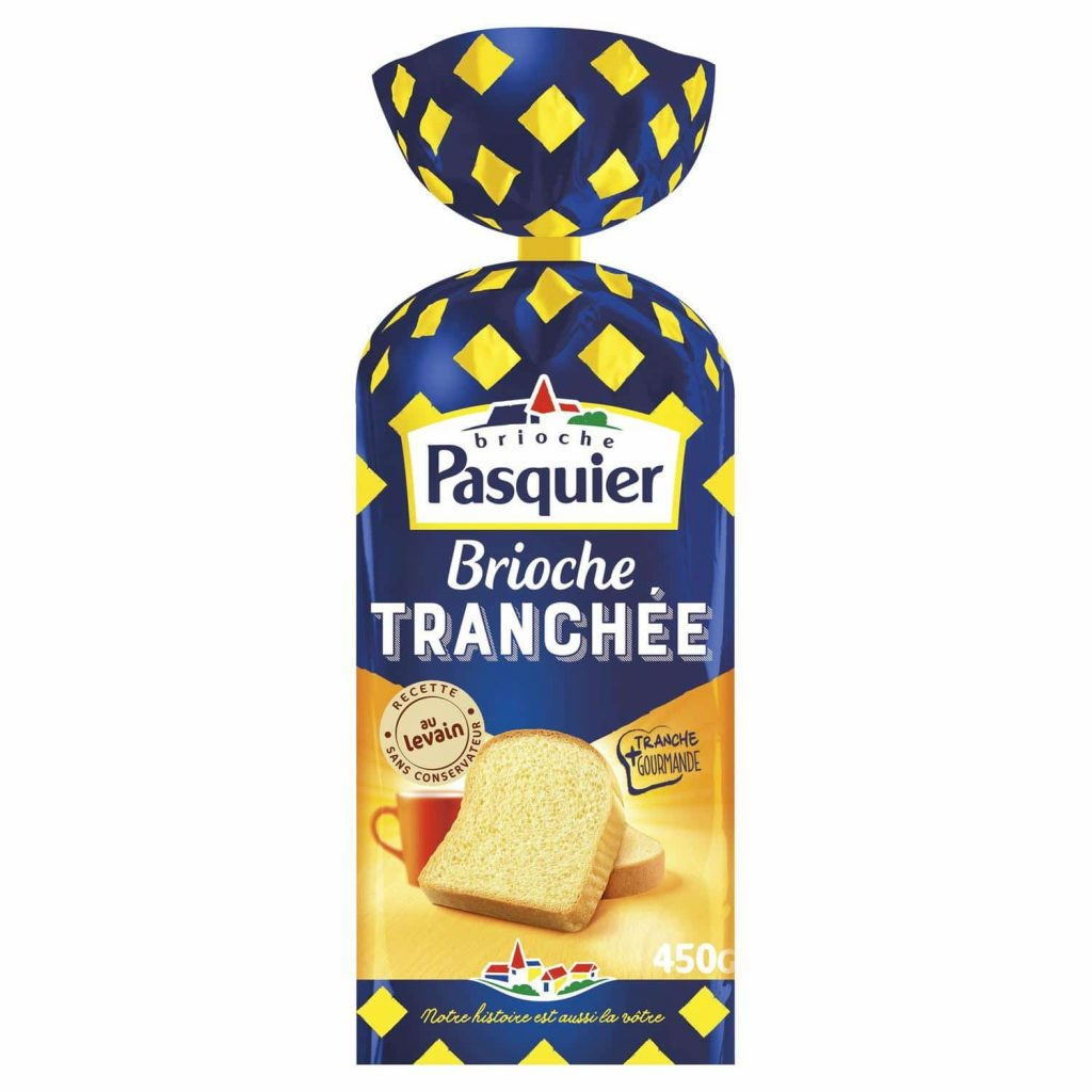 Brioche Tranchée Nature Pasquier - My French Grocery