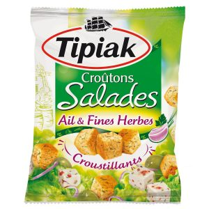 Croûtons Ail & Fines Herbes Tipiak - My French Grocery