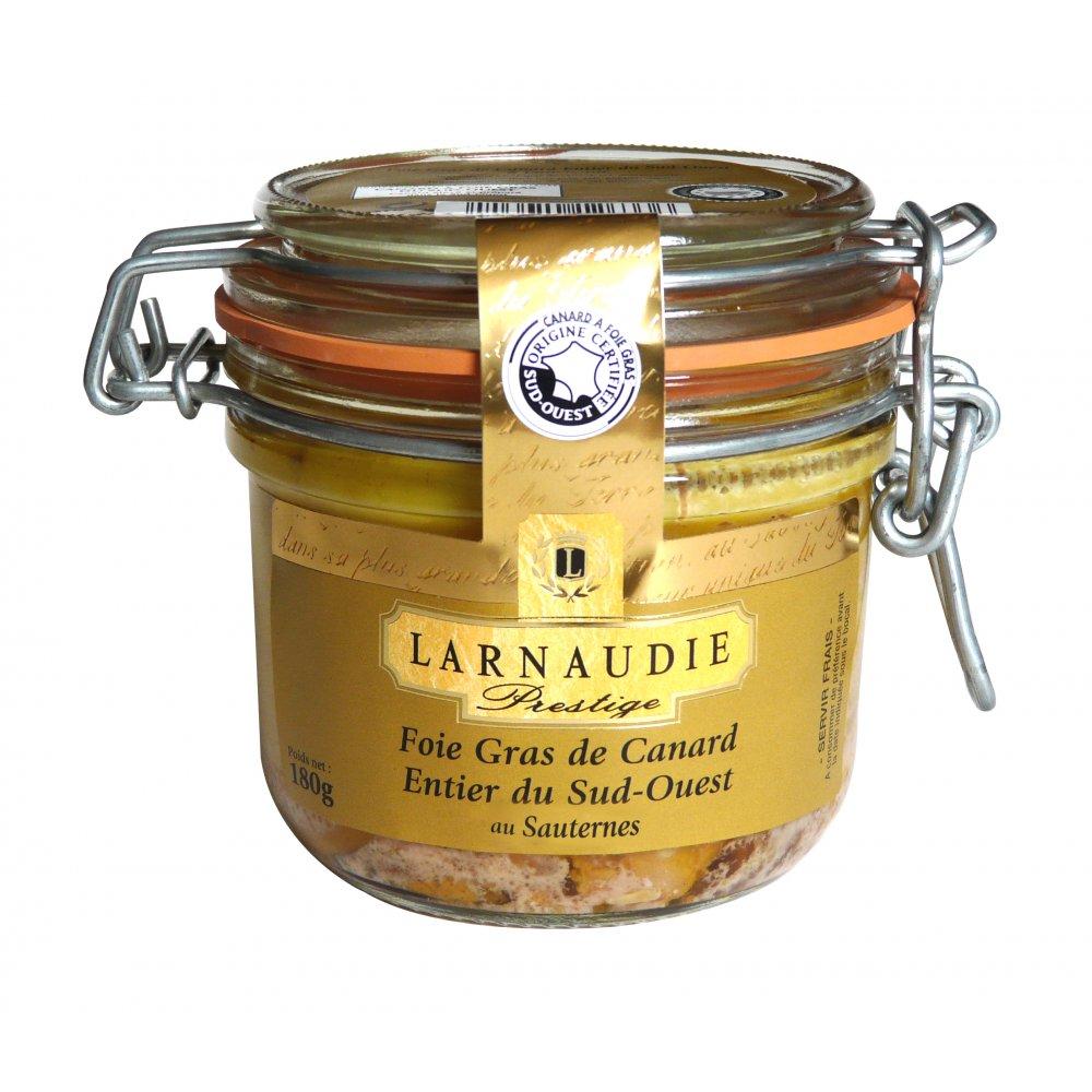 Foie Gras De Canard Au Sauternes Larnaudie - My French Grocery