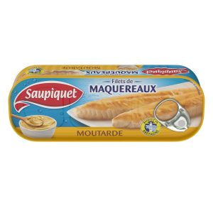Filets De Maquereaux A La Moutarde Saupiquet - My French Grocery