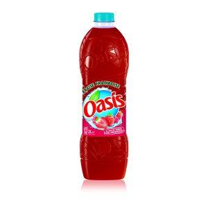 Bebida De Frambuesa y Fresa Oasis