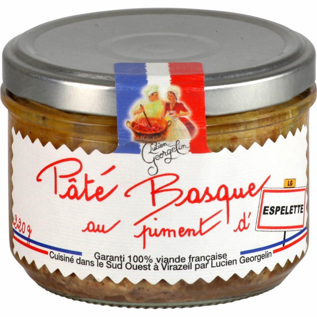 Pâté Basque Au Piment D'Espelette Lucien Georgelin - My French Grocery