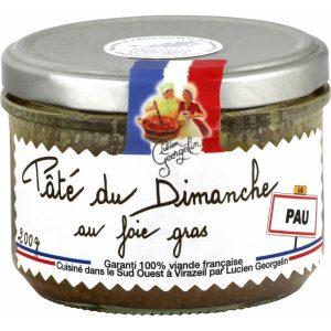 """Paté """"Du Dimanche"""" Con Hígado De Pato"""