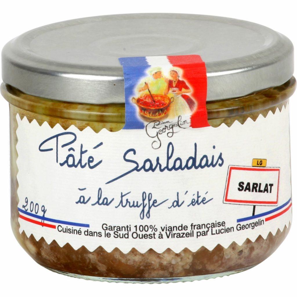 Pâté Sarladais Aux Truffes Lucien Georgelin - My French Grocery