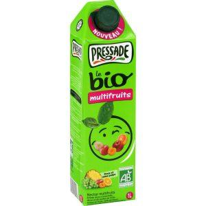 Jus De Fruit Bio Multifruits Pressade - My French Grocery