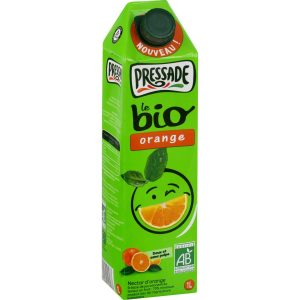 Jus D'Orange Bio Pressade - My French Grocery