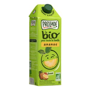 Jus D'Ananas Bio Pressade - My French Grocery
