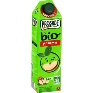 Jus De Pomme Bio Pressade - My French Grocery