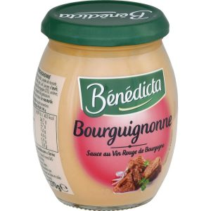 Sauce Bourguignonne Bénédicta - My French Grocery