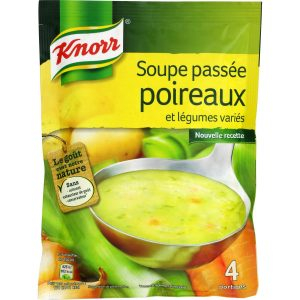 Soupe Poireaux & Légumes Knorr - My French Grocery