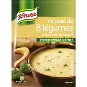 Soupe Velouté De 8 Légumes Knorr - My French Grocery