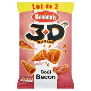 2 X Bénénuts 3D Bacon - My French Grocery