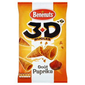 Bénénuts 3D Paprika - My French Grocery