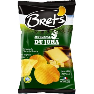 Chips Au Fromage Du Jura Bret's - My French Grocery
