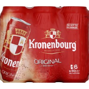 Bière Blonde Kronenbourg X 6 - My French Grocery