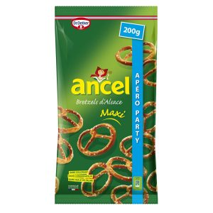Biscuits Apéritif Bretzels Ancel - My French Grocery