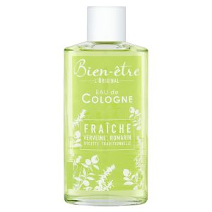 Eau De Cologne Senteur Verveine & Romarin Bien-être - My French Grocery