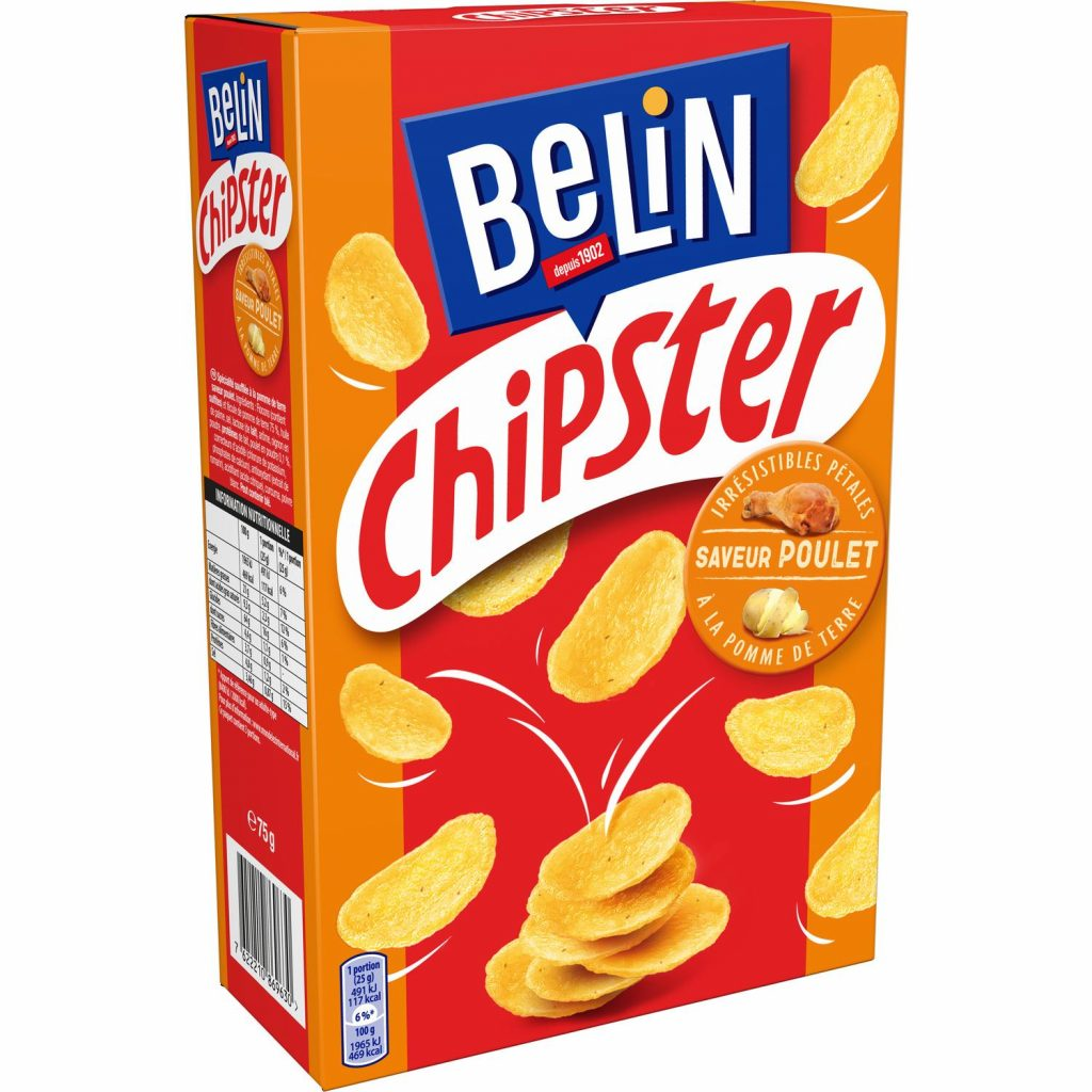 Belin Chipster Poulet- My French Grocery