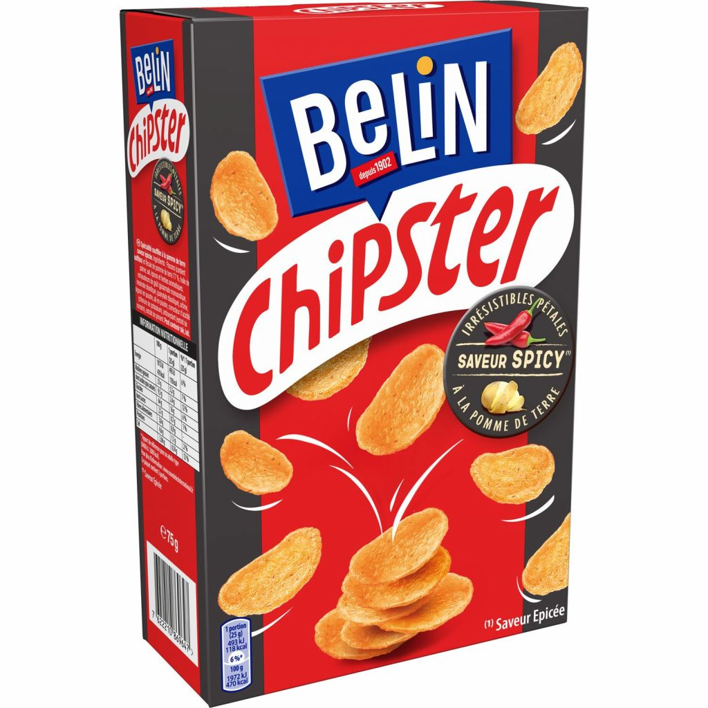 Belin Chipster Epicé- My French Grocery