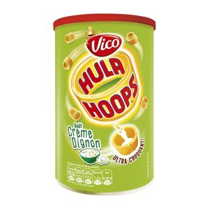 Biscuits Goût Oignon Hula Hoops Vico - My French Grocery