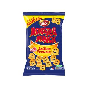 Monster Munch Goût Jambon - Fromage - My French Grocery