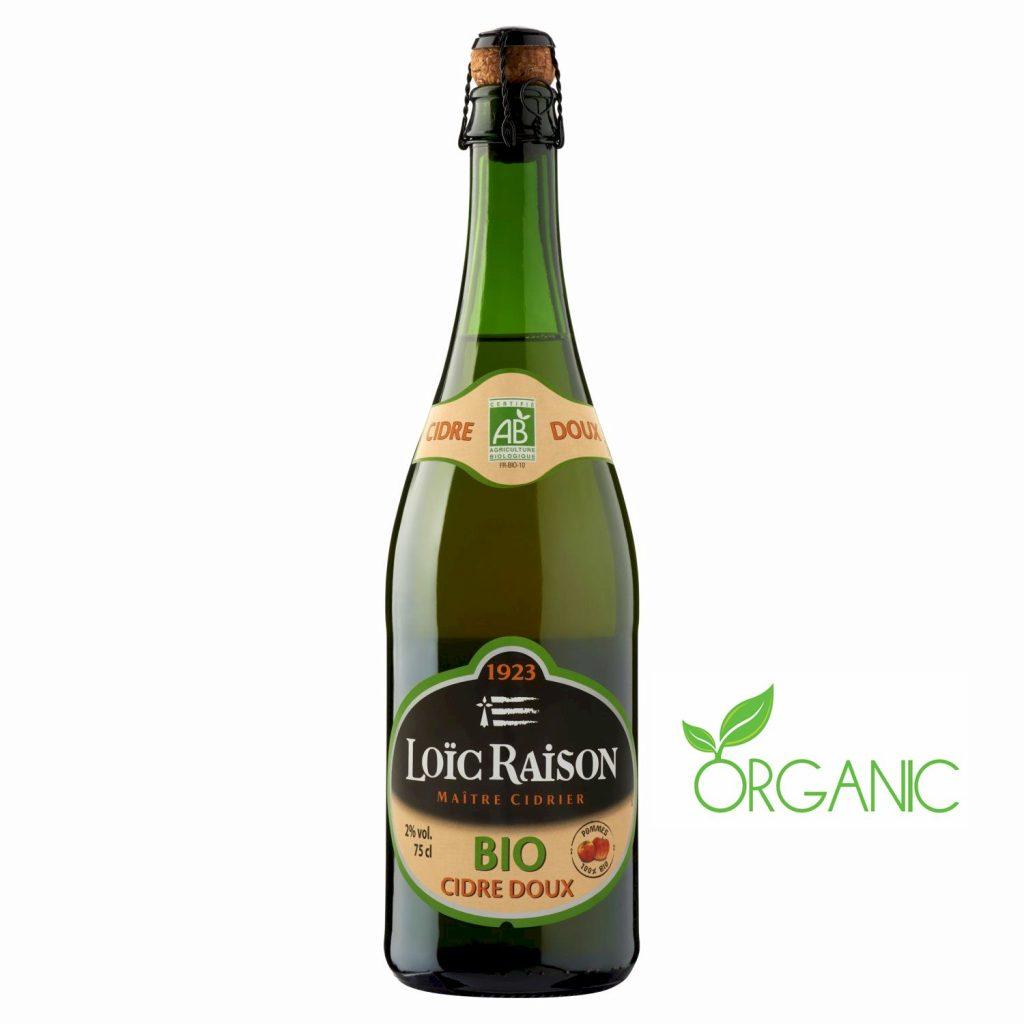 Cidre Doux Bio Loïc Raison - My French Grocery