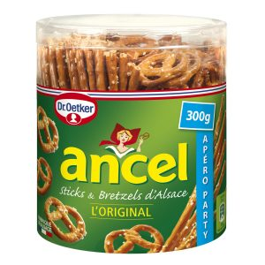 Biscuits Apéritif Sticks & Bretzels Ancel - My French Grocery