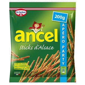 Biscuits Apéritif Sticks Ancel - My French Grocery