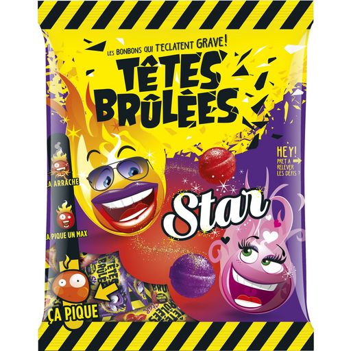 Bonbons Têtes Brulées Star - My French Grocery