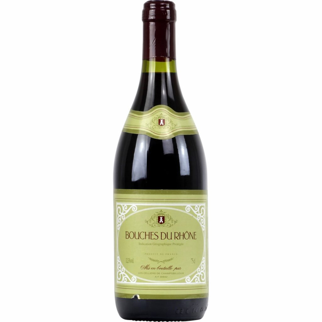 Vin Rouge - Bouches du Rhône IGP - My French Grocery