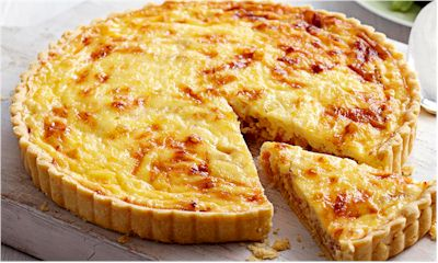 The Recipe Of The Month : Quiche Lorraine