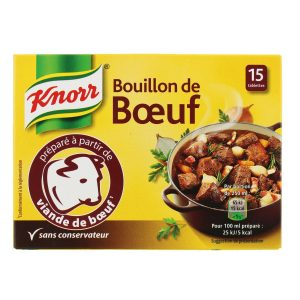 Bouillon De Bœuf Knorr- My French Grocery