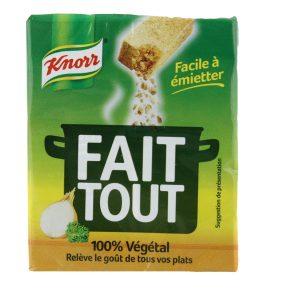 Bouillon Fait Tout 100% Végétal Knorr - My French Grocery