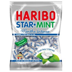 Bonbons StarMint Haribo - My French Grocery
