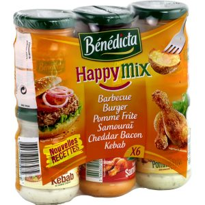 6 X Sauces Benedicta - My French Grocery