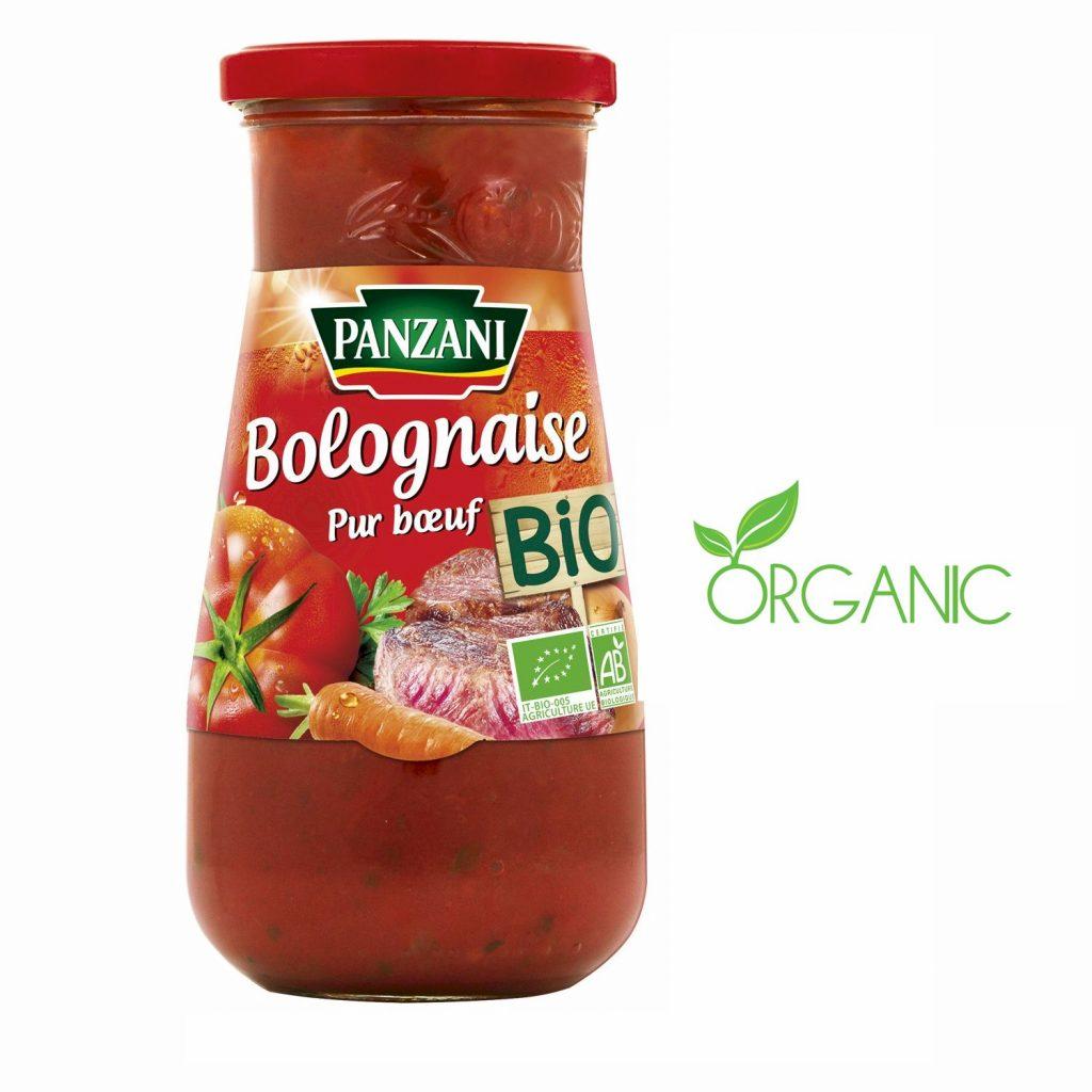 Sauce Bolognaise Bio Panzani - My French Grocery