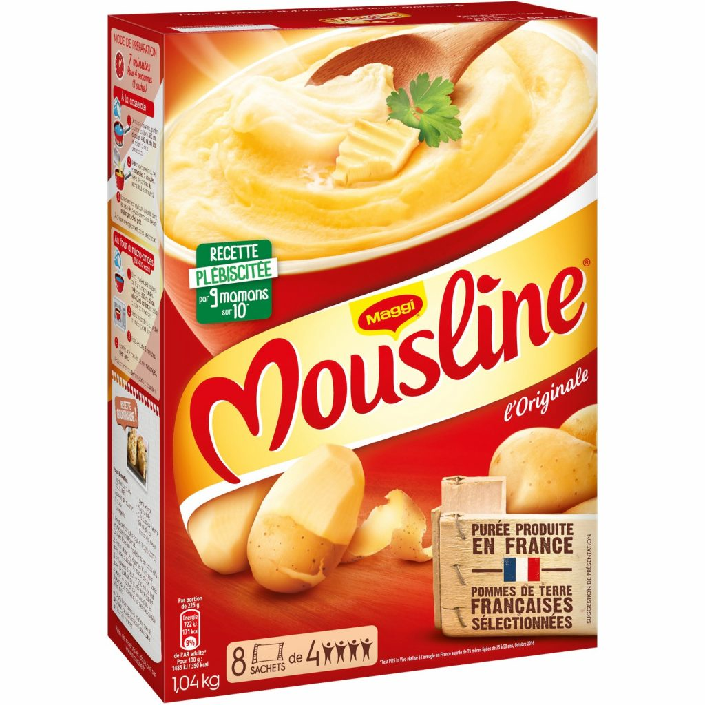 Purée En Flocons Nature Mousline XL - My French Grocery