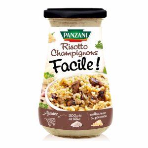 Sauce Risotto Champignons Panzani - My French Grocery
