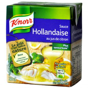 Sauce Hollandaise au Jus de Citron Knorr- My French Grocery
