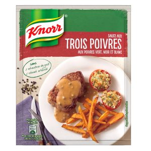 Sauce 3 Poivres Knorr- My French Grocery